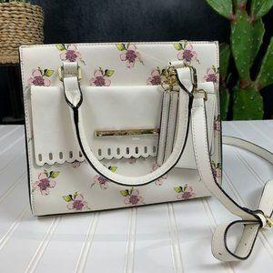 🆕Betsy Johnson Full Bloom Satchel Crossbody Bag
